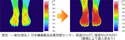 赤外線サーモグラフィ写真